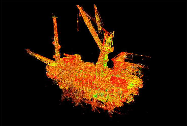 Laser Scanning - Flounder